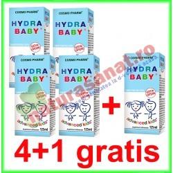Hydra Baby Sirop 125 ml PRMOTIE 4+1 GRATIS - Cosmo Pharm