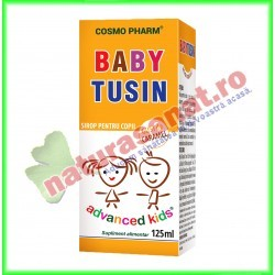 Baby Tusin Sirop 125 ml - Cosmo Pharm