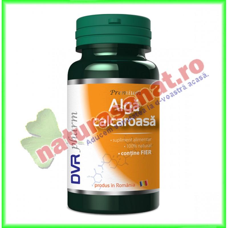 Alga Calcaroasa 60 capsule - DVR Pharm - www.naturasanat.ro