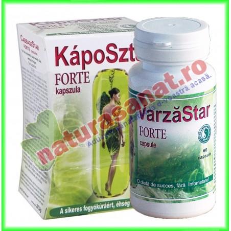 Varza Star Forte 60 capsule - Dr. Chen Patika - www.naturasanat.ro