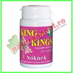 King Of Kings pentru Femei 50 capsule - Dr. Chen Patika - Mixt Com - www.naturasanat.ro