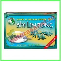 Shi Lin Tong Ceai 20 plicuri - Dr. Chen Patika - Mixt Com - www.naturasanat.ro