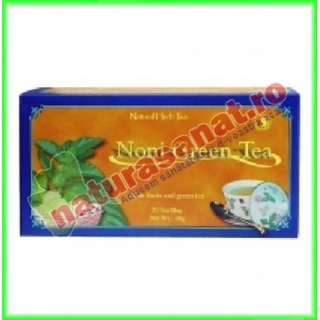 Noni cu Ceai Verde 20 plicuri - Dr. Chen Patika - Mixt Com - www.naturasanat.ro