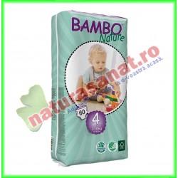 Bambo Nature Maxi Scutece copii Jumbo Pack Marimea 4 (7-18 kg) 60 buc - Bambo Nature - www.naturasanat.ro