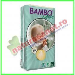 Bambo Nature Midi Scutece copii Jumbo Pack Marimea 3 (5-9 kg) 66 buc - Bambo Nature - Bambo Nature - www.naturasanat.ro