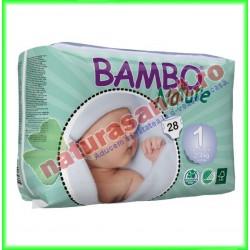 Bambo Nature Scutece nou-nascuti Marimea 1 ( 2-4 kg ) - Bambo Nature - www.naturasanat.ro