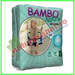 Bambo Nature Pants Junior Scutece copii Marimea 5 (12-20 kg) 20 buc - Bambo Nature