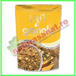 Granola cu Mango si Nuci Macadamia 400 g Lizi's - Unicorn Naturals - www.naturasanat.ro