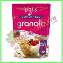 Granola fara gluten 400 g Lizi's - Unicorn Naturals - www.naturasanat.ro