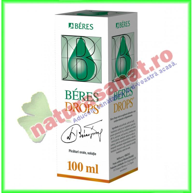 Beres Drops Picaturi 100 ml - Beres - www.naturasanat.ro