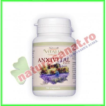 Anxivital Relaxant (fost Anxivital PLus) 50 capsule - Vitalia K - www.naturasanat.ro