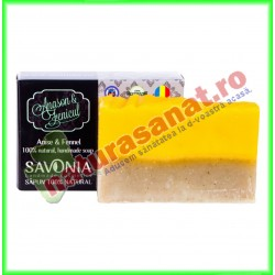 Sapun Natural Anason si Fenicul 90 g - Savonia - www.naturasanat.ro