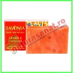 Sapun Natural Lamaita si Portocala 90 g - Savonia - www.naturasanat.ro