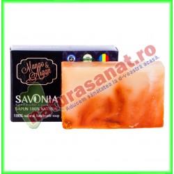 Sapun Natural Mango si Argan 90 g - Savonia - www.naturasanat.ro