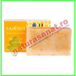 Sapun Natural Miere si Galbenele 90 g - Savonia - www.naturasanat.ro