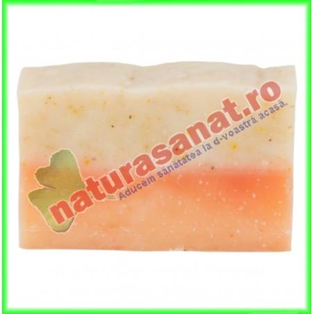 Sapun Natural Musetel si Laptisor de Matca 90 g - Savonia - www.naturasanat.ro