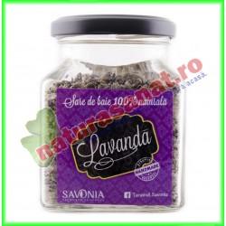 Sare de Baie cu Lavanda 250 g - Savonia - www.naturasanat.ro