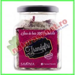 Sare de Baie cu Trandafiri 250 g - Savonia - www.naturasanat.ro