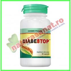 Diabestop 30 capsule - Cosmo Pharm - www.naturasanat.ro