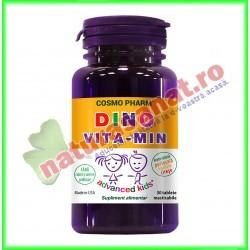 Dino Vita-Min 30 capsule - Cosmo Pharm - www.naturasanat.ro
