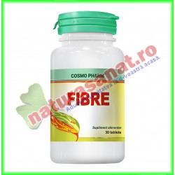 Fibre 30 tablete - Cosmo Pharm - www.naturasanat.ro