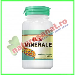 Multiminerale 30 tablete - Cosmo Pharm - www.naturasanat.ro