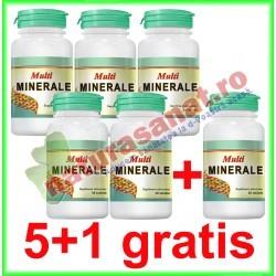 Multiminerale 30 tablete PROMOTIE 5+1 GRATIS - Cosmo Pharm - www.naturasanat.ro
