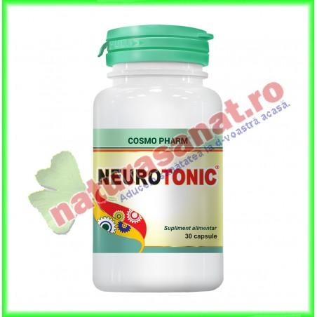 Neurotonic 30 capsule - Cosmo Pharm - www.naturasanat.ro