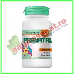 Prenatal 30 tablete - Cosmo Pharm - www.naturasanat.ro