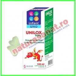 Unilox Baby Infant Uno Sirop pentru reflux gastroesofagian  100 ml - Solacium Pharma - www.naturasanat.ro