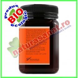 Miere de Manuka Kfactor 16 RAW 500 g - Wedderspoon - www.naturasanat.ro