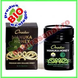 Miere de Manuka UMF 25+ 250g - Onuku - www.naturasanat.ro