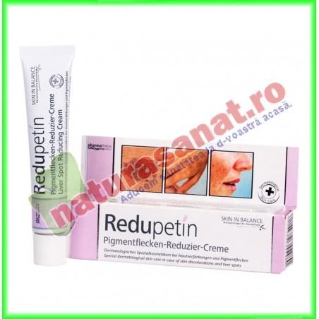 Redupetin Crema pentru Reducerea Petelor Pigmentare 20 ml - Zdrovit - www.naturasanat.ro