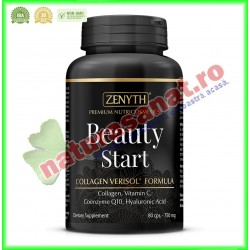 Beauty Start 750 mg 80 capsule - Zenyth - www.naturasanat.ro
