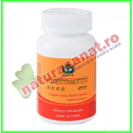 Ganoderma Lucidum Extract 425 mg 120 capsule - Yong Kang - Co&Co Consumer - www.naturasanat.ro