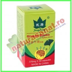 Ginkgo Biloba Extractum 30 capsule - Yong Kang - Co&Co Consumer - www.naturasanat.ro