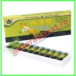 Panax Ginseng 10 fiole buvabile de 10 ml fiecare - Yong Kang - Co&Co Consumer - www.naturasanat.ro