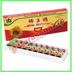 Royal Jelly (Laptisor de Matca) 10 fiole buvabile de 10 ml fiecare - Yong Kang - Co&Co Consumer - www.naturasanat.ro