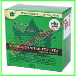 Ceai Antiadipos 30 plicuri cu 2 g fiecare - Yong Kang - Co&Co Consumer - www.naturasanat.ro