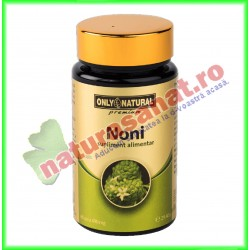 Noni (Morinda Citrifolia) 400 mg 60 capsule - Only Natural - Co&Co Consumer - www.naturasanat.ro