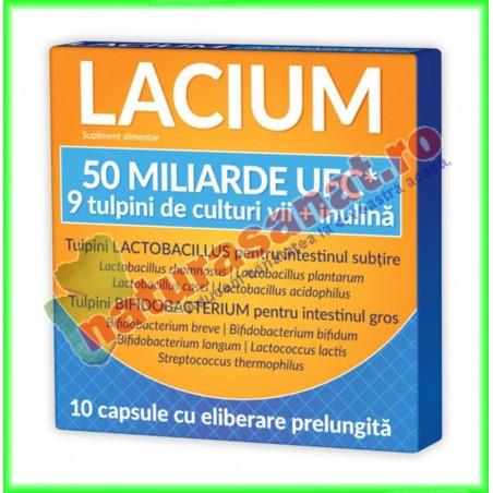 Lacium 50 miliarde UFC 10 capsule - Zdrovit - www.naturasanat.ro