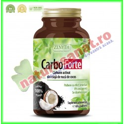 Carbo Forte Pulbere 60 g - Zenyth - www.naturasanat.ro