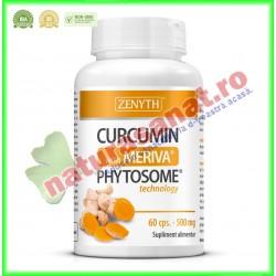 Curcumin with Meriva® 500 mg 60 capsule - Zenyth - www.naturasanat.ro