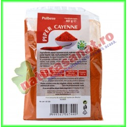 Piper Cayenne Pulbere 40g -...