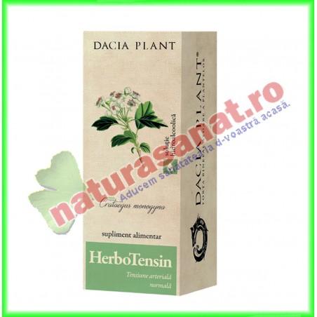 Herbotensin Tinctura (fost Reglator al Tensiunii Tinctura) 200 ml - Dacia Plant - www.naturasanat.ro