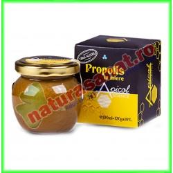 Propolis in Miere 120 g - Apicolscience - www.naturasanat.ro