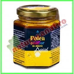 Polen Poliflor in Miere 225 g - Apicolscience - www.naturasanat.ro