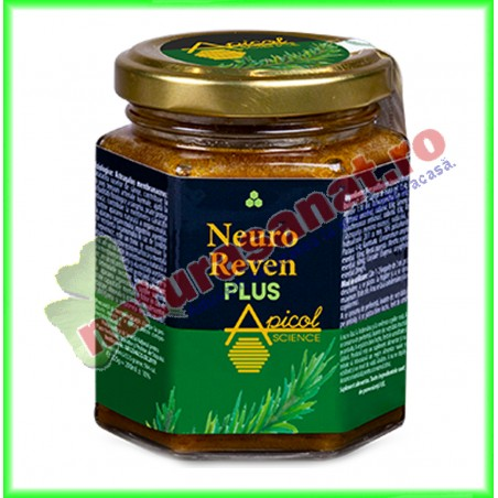 Neuro Reven Plus 210 ml - Apicolscience - www.naturasanat.ro