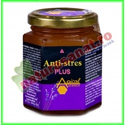 Anti Stres Plus 235 g - Apicolscience - www.naturasanat.ro