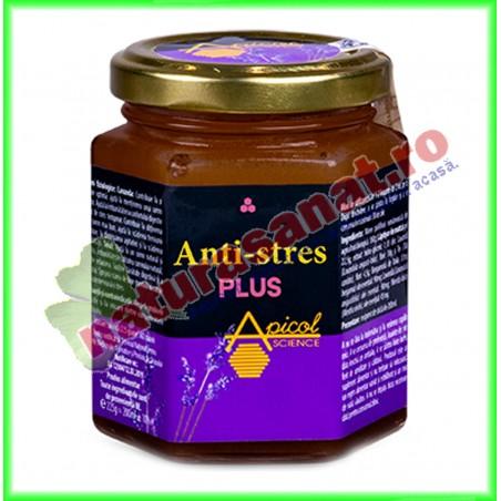 Anti Stres Plus 235 g - Apicolscience - www.naturasanat.ro